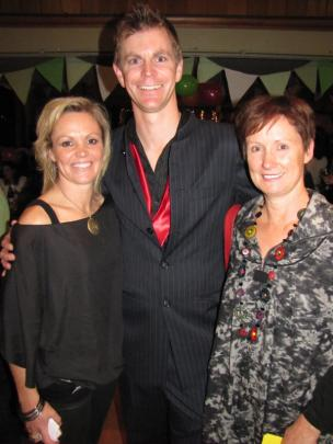 Emma Pullar, of Arrowtown, Shaun Vining, of Lake Hayes Estate, and Jane Foster, of Arrowtown