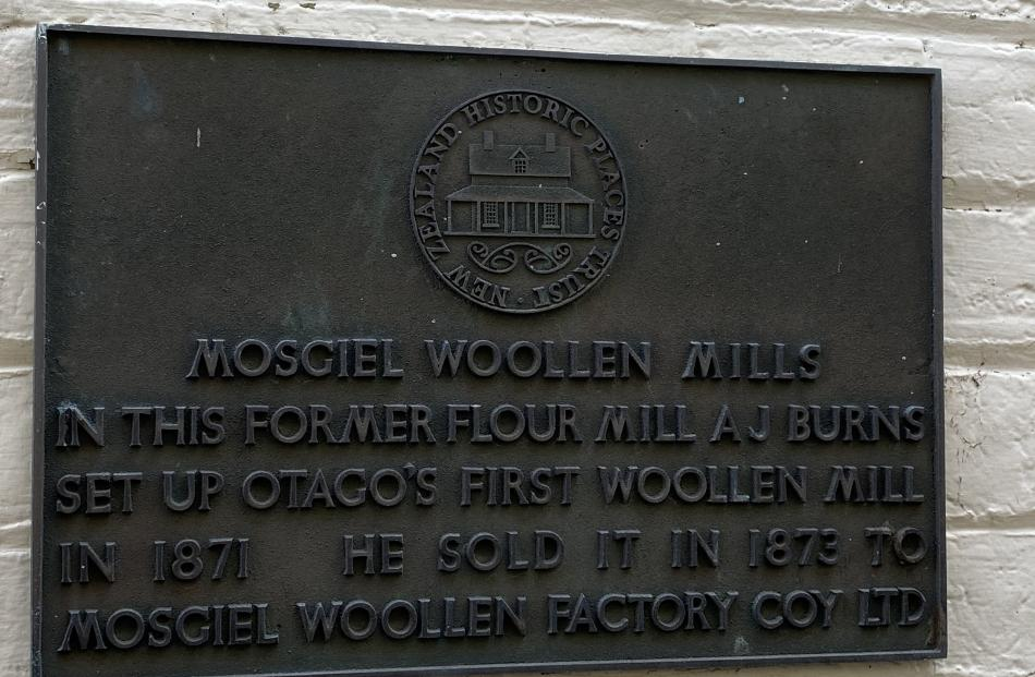 An early plaque gives clues to the history of the Mill Park site.