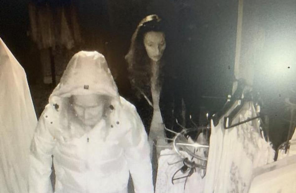 Police want to speak to these two women in relation to the incident. Photos: NZ Police