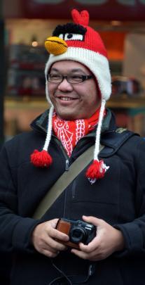 Sean Lin, of Taiwan.