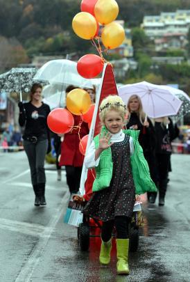 Ruby Savidge (7), of Queenstown.