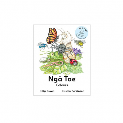 Kitty Brown and Kirsten Parkinson - Ngā Tae (Colours)