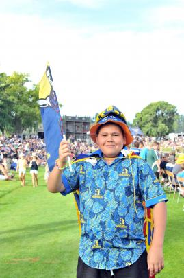 Highlanders supporter Taylor Roscoe-