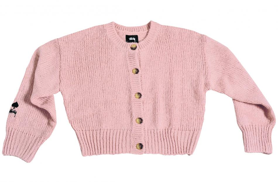 Stussy Mable Button Up Cardi, $124.99, VOID.