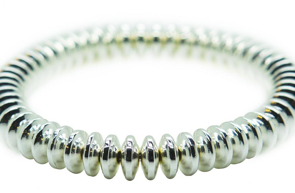 Disco Bracelet, $40, Joanna Salmond Jewellery