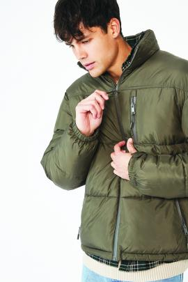 Recycled Puffer Jacket, $89.99, Cotton On at Meridian Mall.