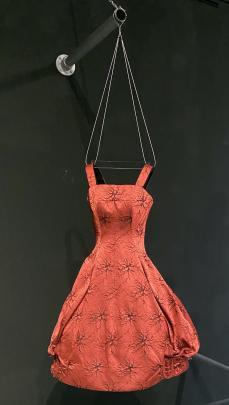 A bubble skirt dress by Frank Usher label.