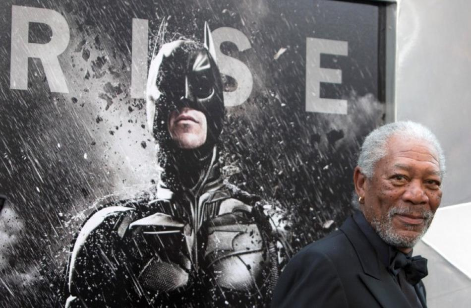 Actor Morgan Freeman attends the world premiere of 'The Dark Knight Rises' in New York. REUTERS/...