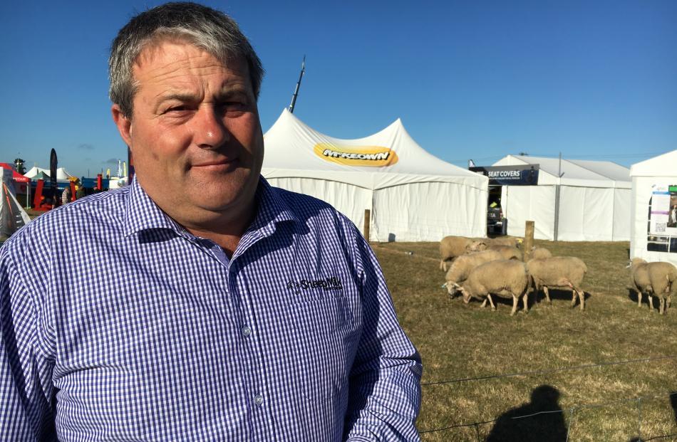 Kirwee farmer Matt Jones sees a big future in sheep milk.