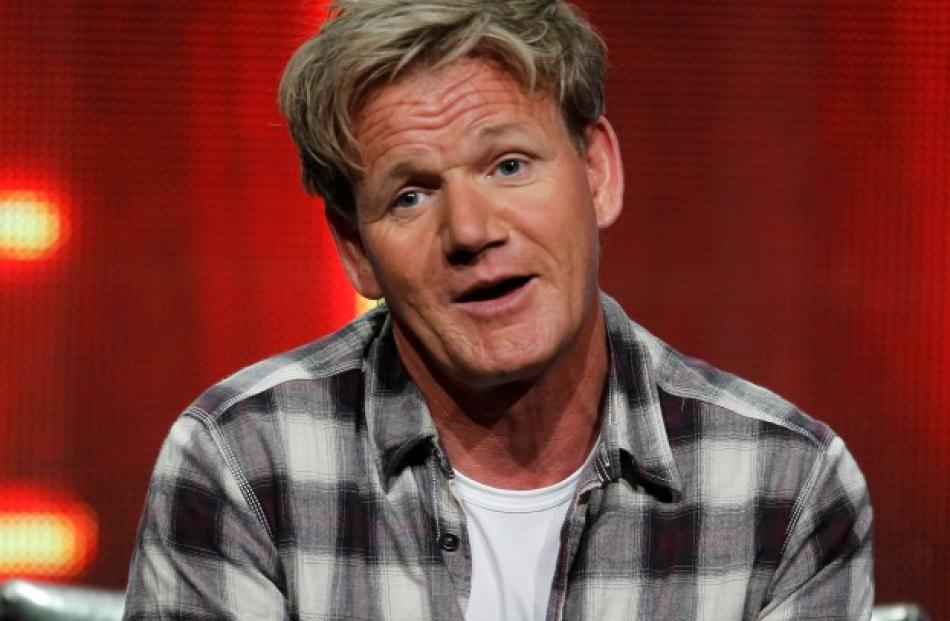 British chef Gordon Ramsay speaks about his new reality series 'Gordon Ramsay's Hotel Hell'...
