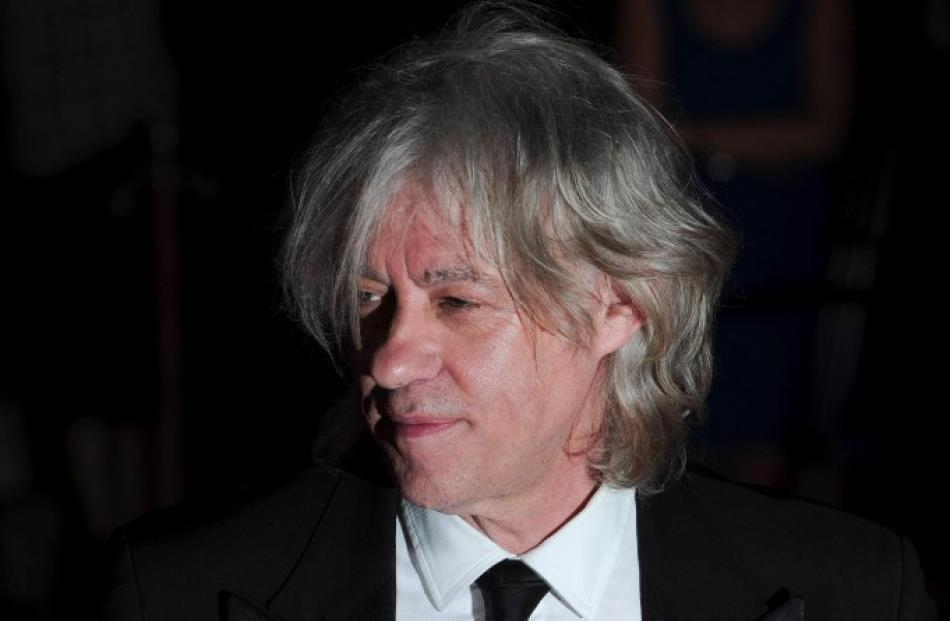 Singer Bob Geldof attends the Sports For Peace Fundraising Ball at The V&A in London. REUTERS/ Ki...
