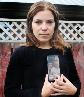 Celina Dore treasures this photo of her mother-in-law, Katia Dore, whom she had to farewell from...