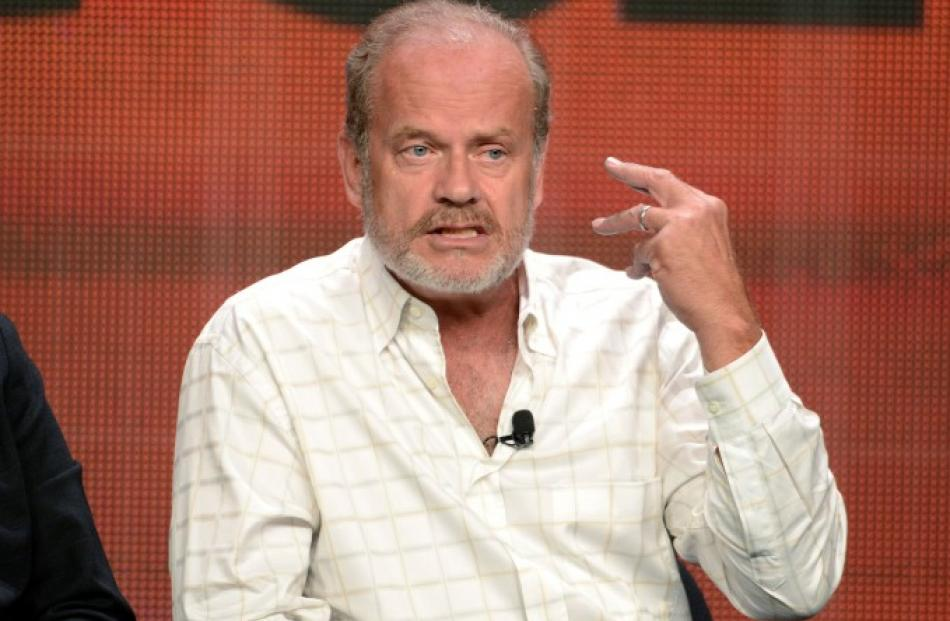 Cast member and executive producer Kelsey Grammer participates in the Starz panel for 'Boss'...