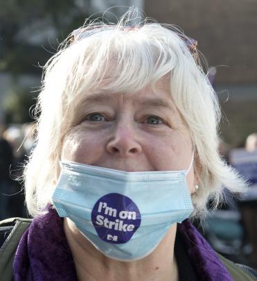 ICU nurse and union delegate Debbie Robinson.