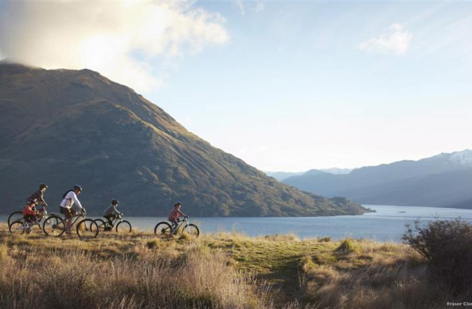 'Blades of gold' at Jack's Point, beside Lake Wakatipu and near Queenstown, is featured in...