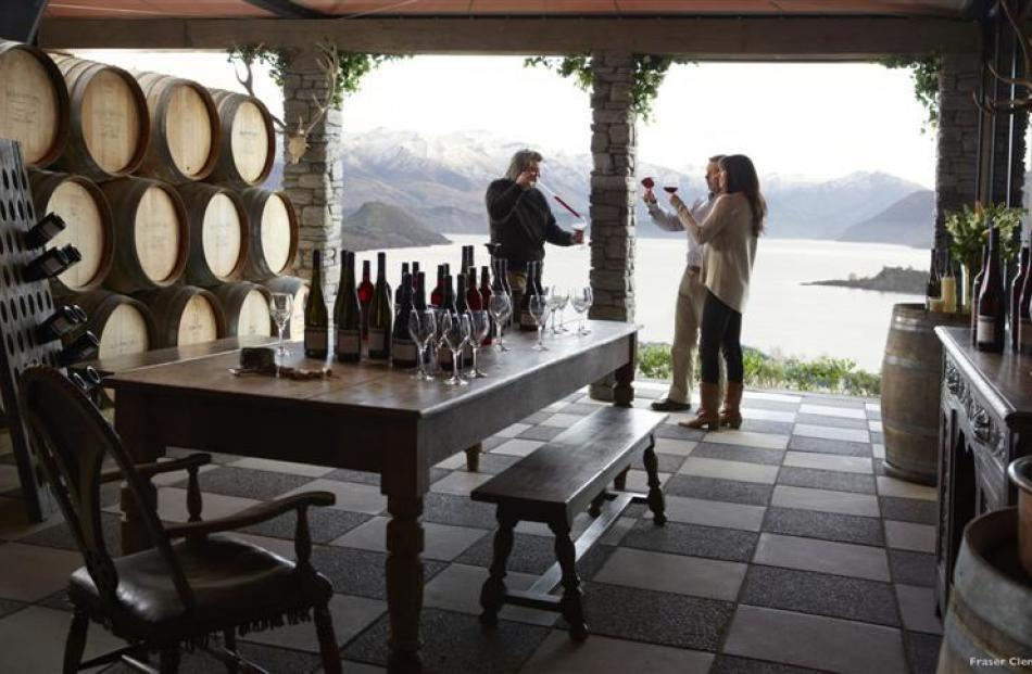 Rippon Vineyard, Wanaka is where 'water turns into wine'  in the  Tourism New Zealand campaign.
