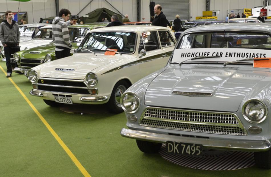 Mark 1 Cortinas were a favourite.