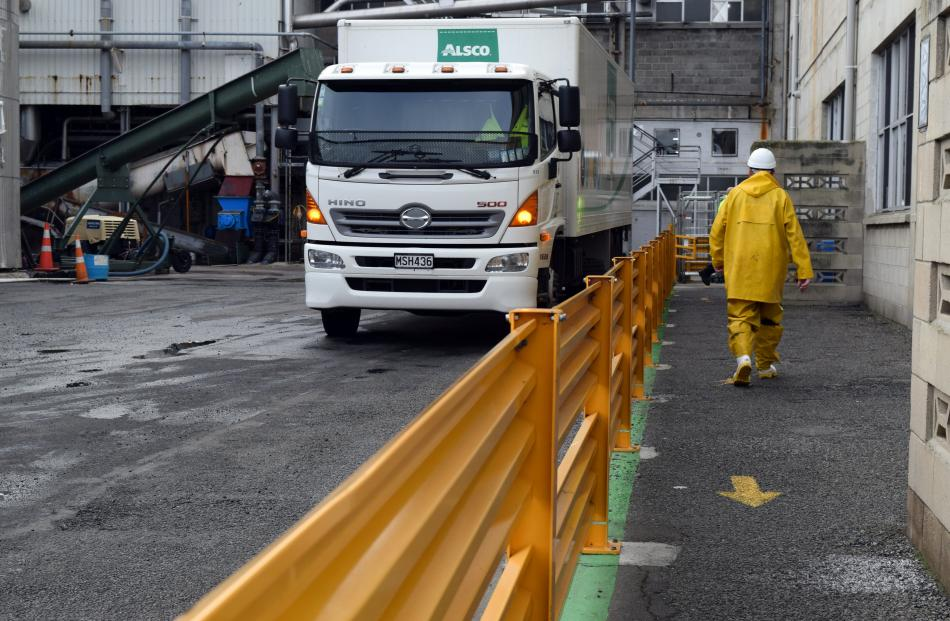 Alliance Group has invested more than $1.2million on installing safety barriers to separate...