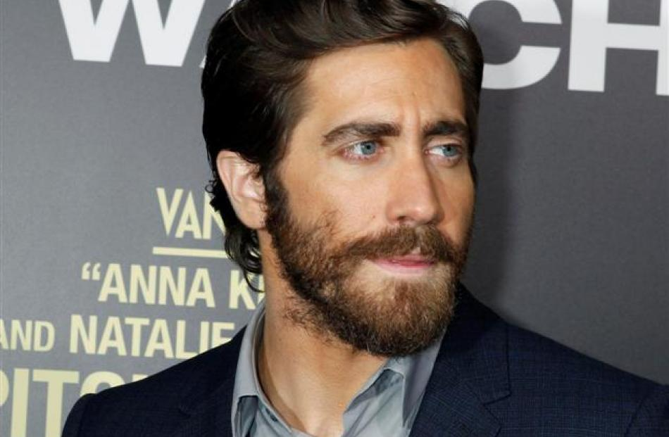 Jake Gyllenhaal arrives at the premiere of his new film 'End of Watch' in Los Angeles. REUTERS...
