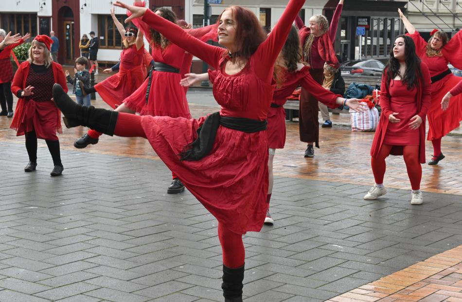 About 50 people danced enthusiastically in a Kate Bush-inspired flash mob at The Most Wuthering...