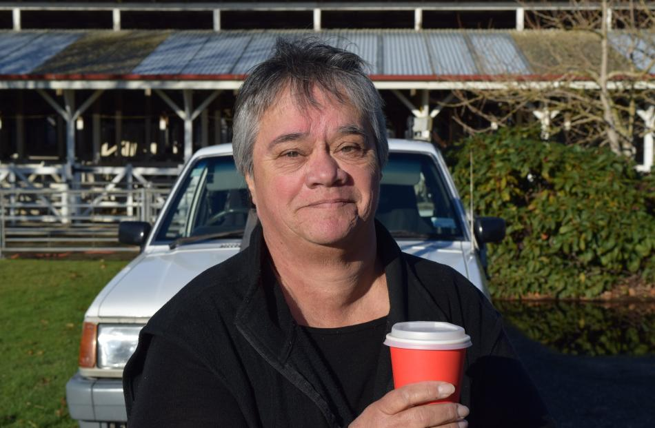 Gaye Joslin, of Mataura. Tree pruner ... ''We prune about 7000 trees a year and on the deck of...