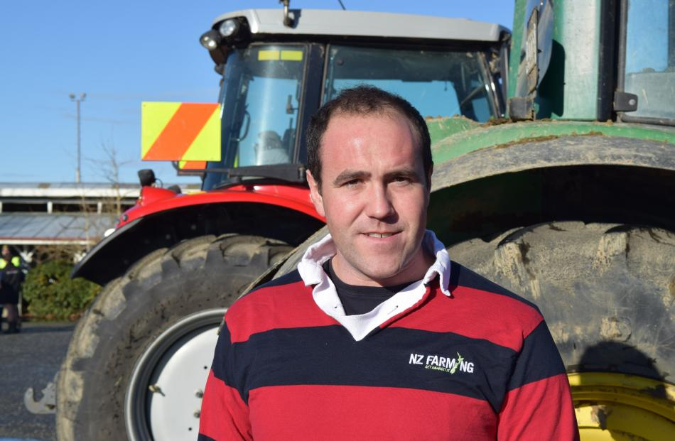 Kayne Smith, of Gore. Dairy farmer ... ''The new tax coming in on diesel vehicles and the...