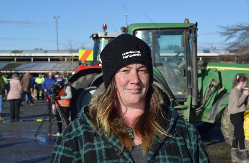 Bianca Silcock, of Riversdale. Dairy farmhand ... ''I'm starting out in the sector and the new...