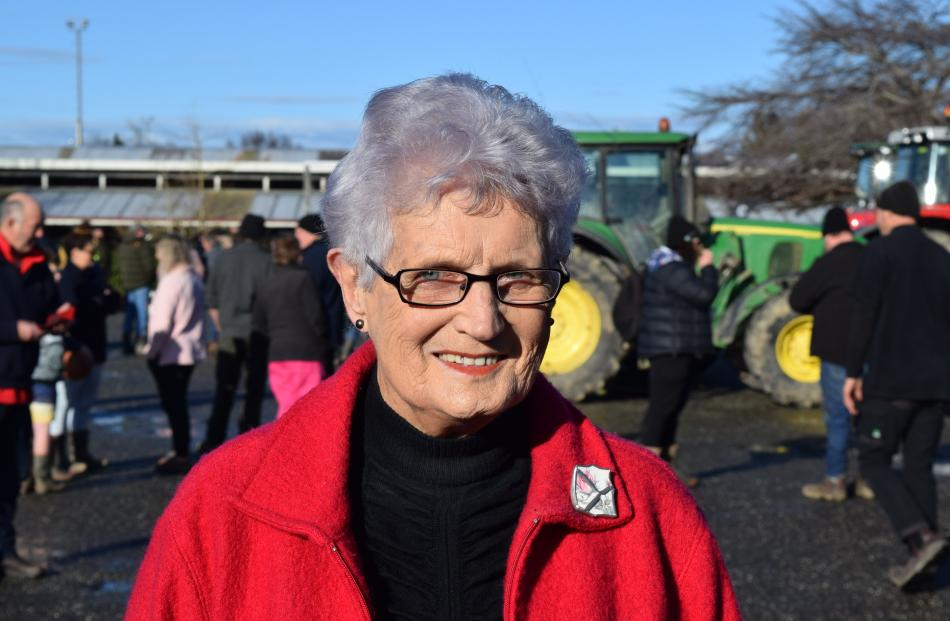 Rata Johnstone, of Gore. Retired farmer ... ''All these rules and regulations don't make sense.''