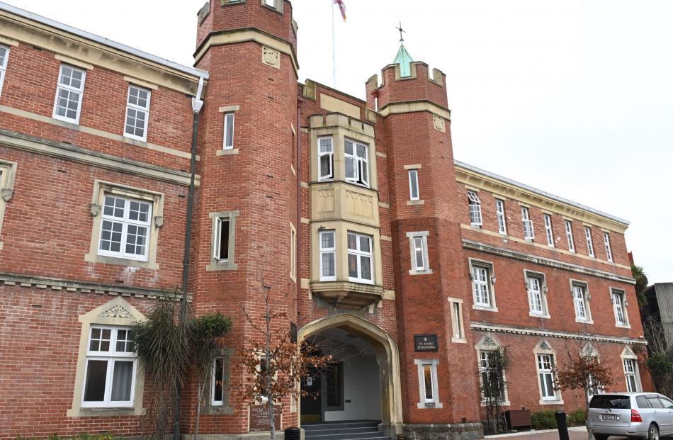 Home sweet home? Dunedin tertiary halls of residence. PHOTOS: LINDA ROBERTSON