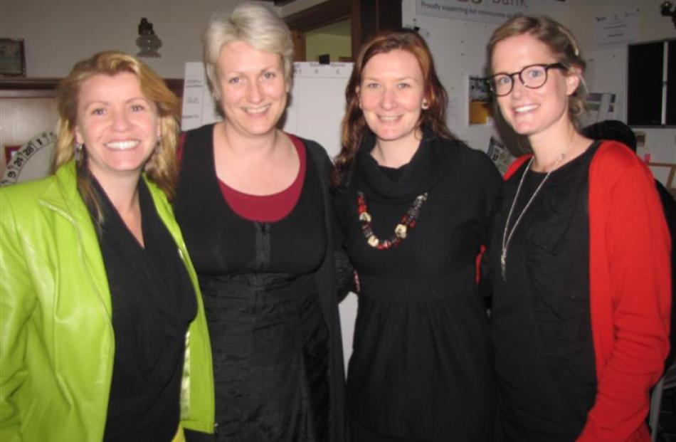 Maria Frewen, Ilona Weekley, Shannon Burrell and Jacqui Giller, of the Queenstown Lakes Family...