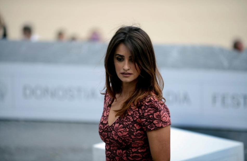 Actress Penelope Cruz attends a photocall to promote the feature film Venuto Al Mondo (Twice Born...