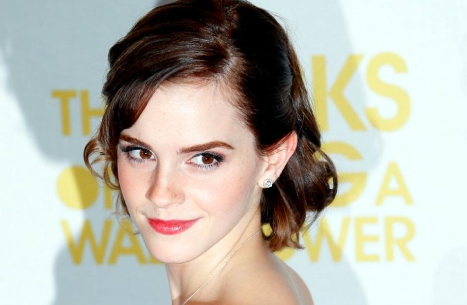 Cast member Emma Watson arrives for the gala screening of her film 'The Perks of Being a...