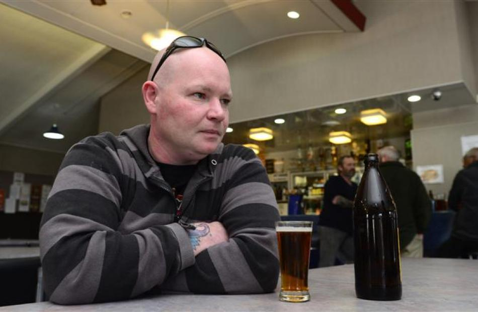Corey Bryan, of Gore, who has worked at the Mataura plant for 13 years in the boning room,...