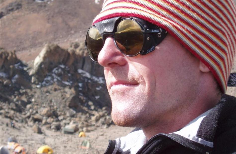 Dunedin geographer Dr Nicolas Cullen.