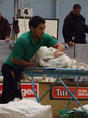 "Joel Henare, of Gisborne, said it was  ""a dream come true"" to win his first New Zealand Merino..."