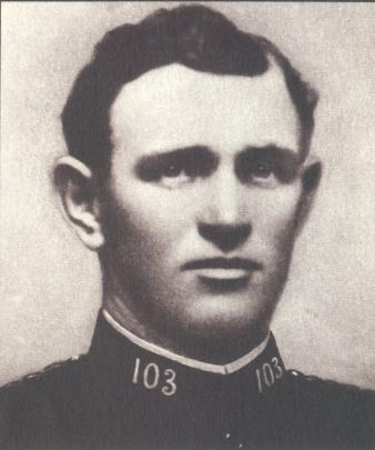Constable James Dorgan, killed in the line of duty in 1921.