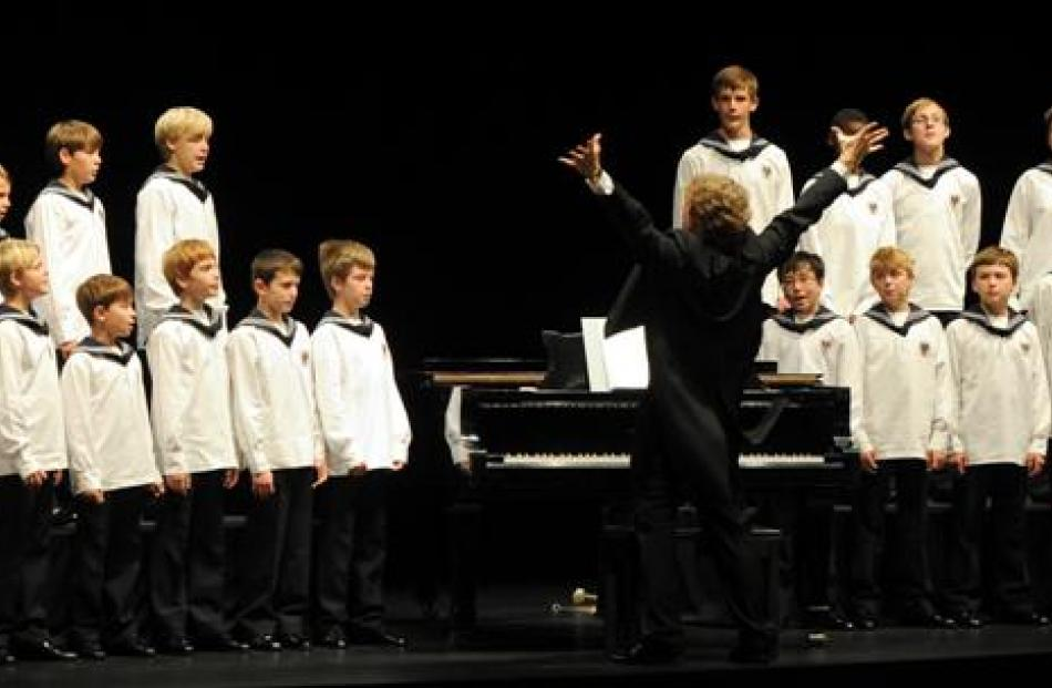 The Vienna Boys Choir. Photo by Craig Baxter.