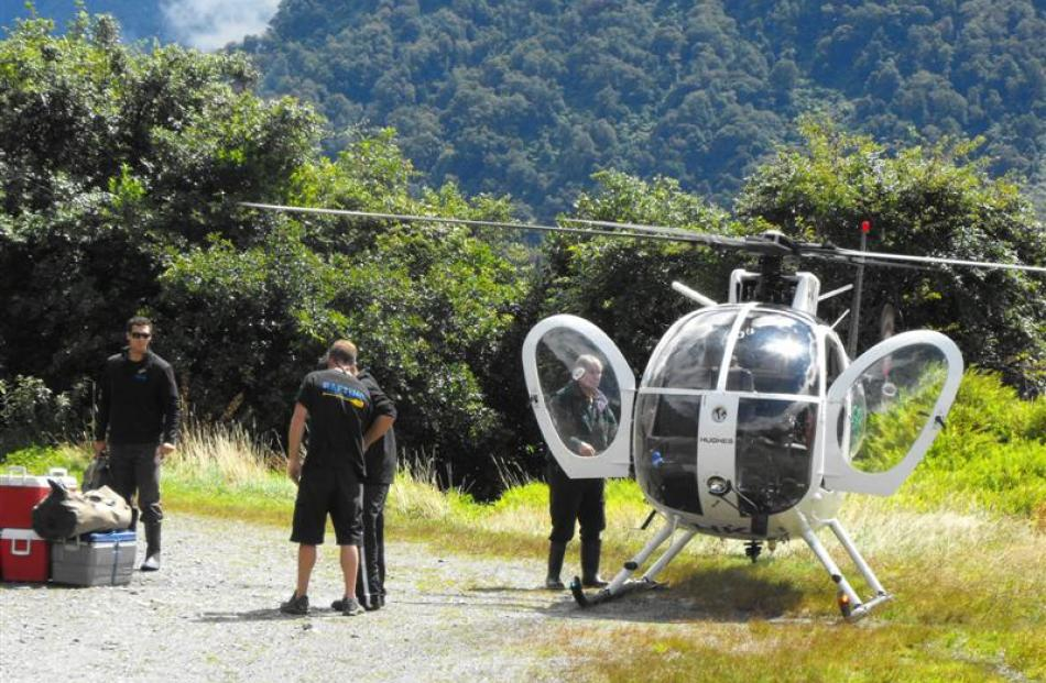 The helicopter flight was one of the highlights of  this journalist's trip on the West Coast's...
