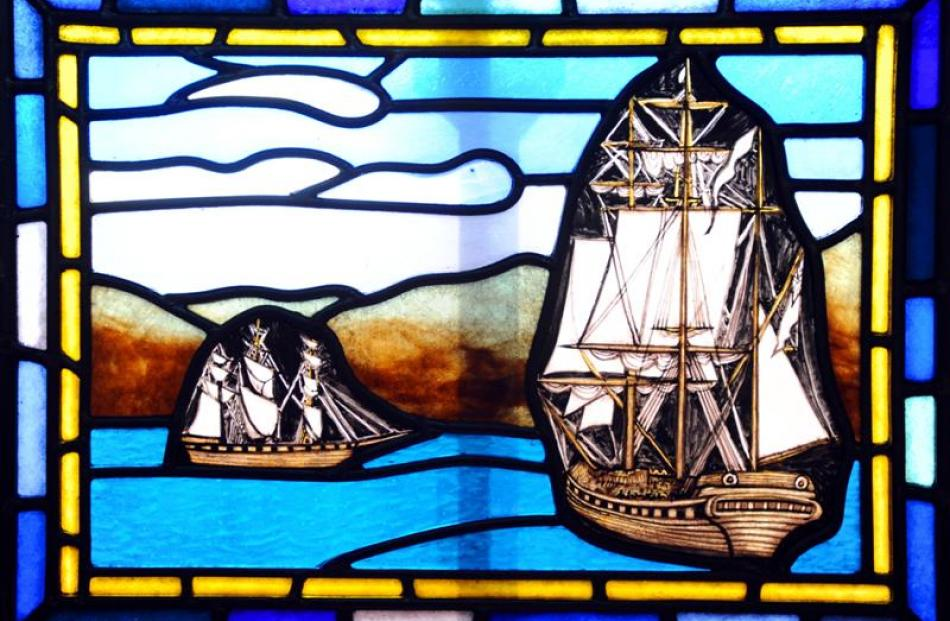 References to Dunedin's history include the John Wickliffe and Philip Laing ships sailing into...