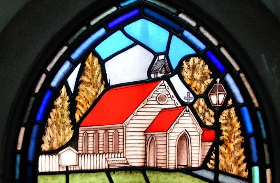 The image of St Paul's Anglican Church in Arrowtown commemorates the area's important place in...