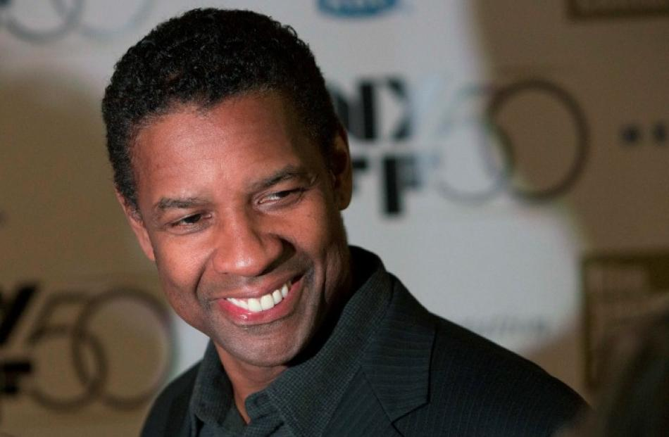 Actor Denzel Washington attends the closing night gala screening of 'Flight' during the 50th New...