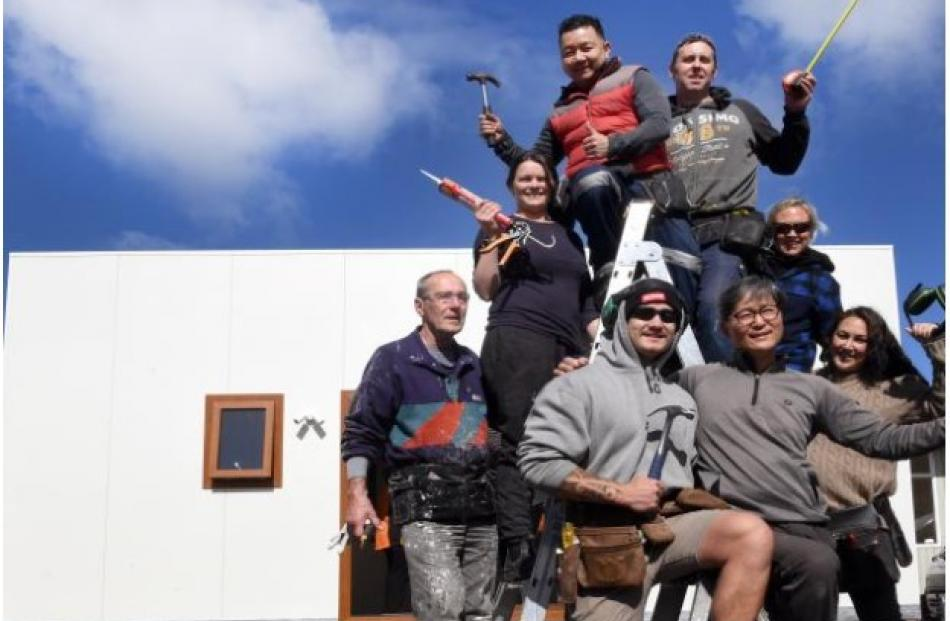 The first Tiny House class