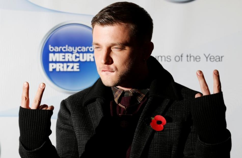 British musician Plan B, who is nominated for a Mercury Prize for his album 'Ill Manors', poses...