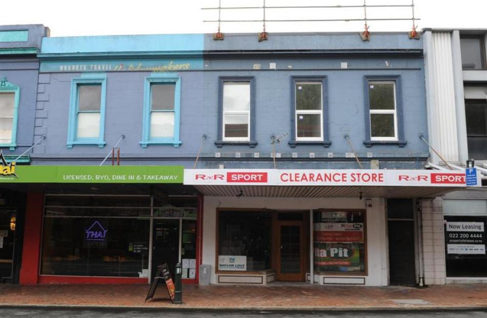 371 George St ... The owners have been granted 50%  rates relief (total $5017) over  three years...