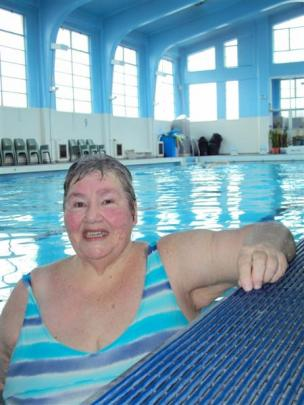 Rosalie Cunningham (71), of Warrington, who exercises and swims laps three times a week at the...