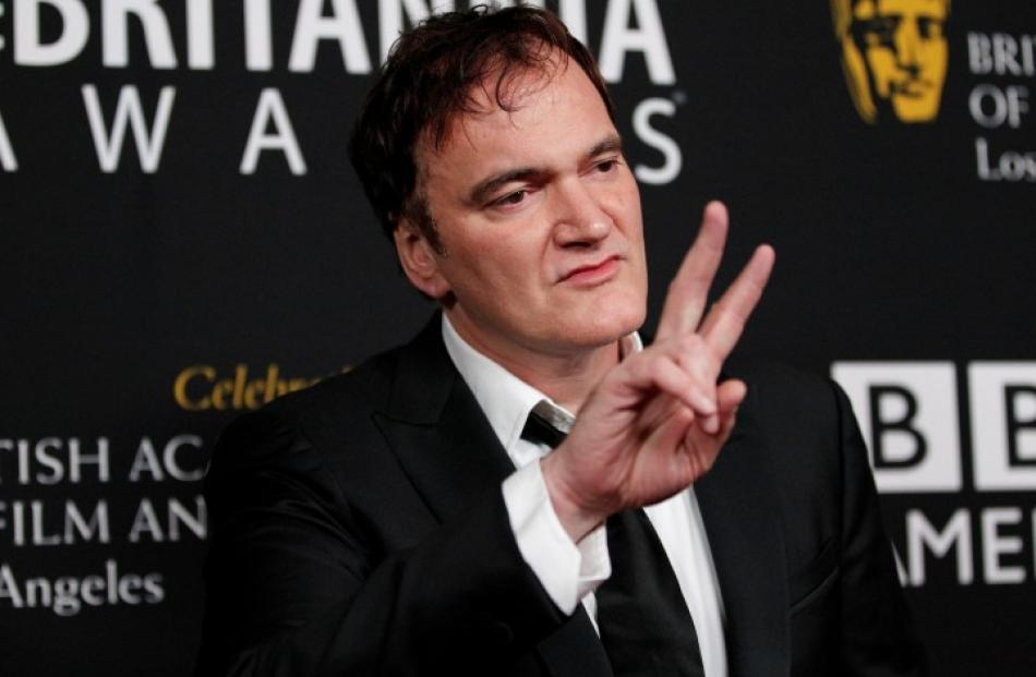 Director Quentin Tarantino poses at the 2012 Britannia Awards hosted by BAFTA (British Academy of...