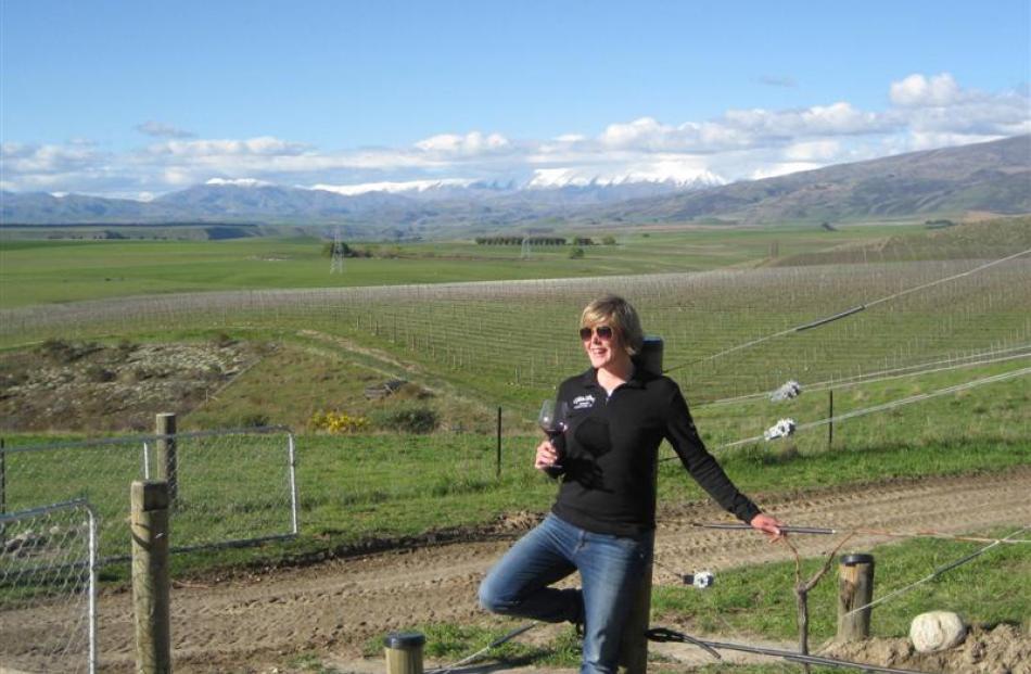 Gibbston Valley assistant winemaker Sascha Herbert is a student of the local terroir.