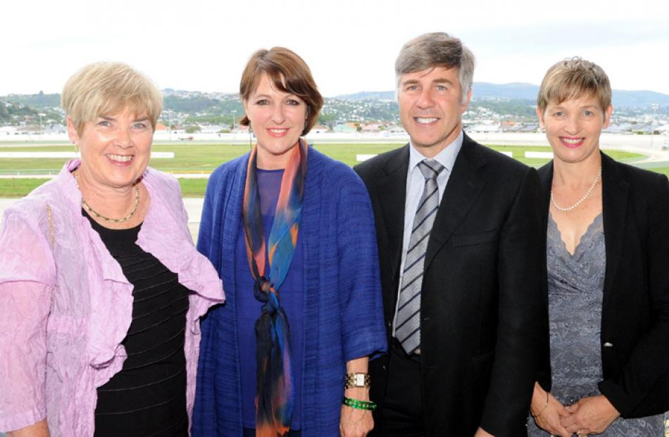 Sue Mackinlay, Gaynor Corkery and Ron and Ainsley Lewis all of Dunedin.