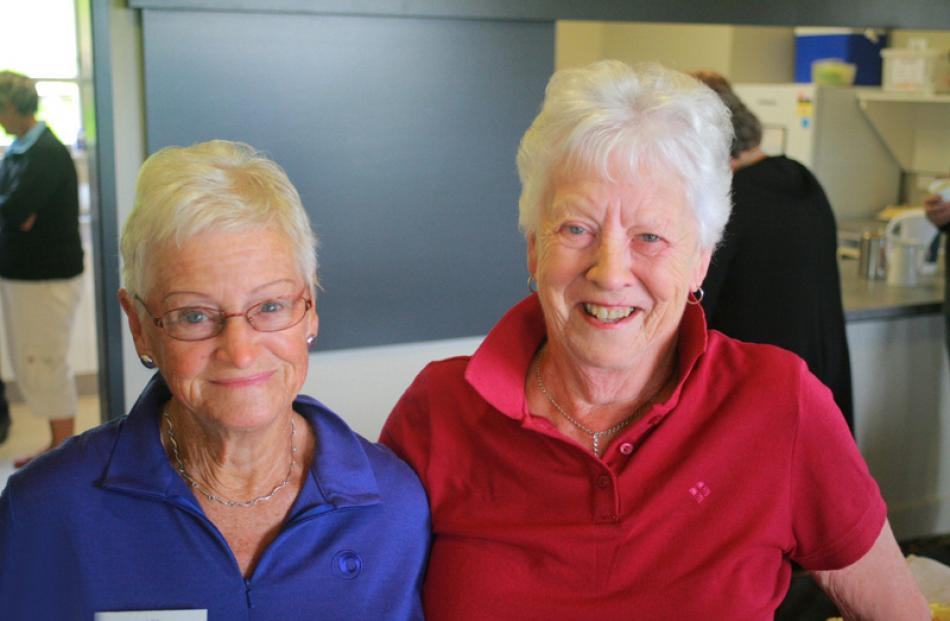 Noeline Turner of Wanaka and Loma Mathieson of Clinton.