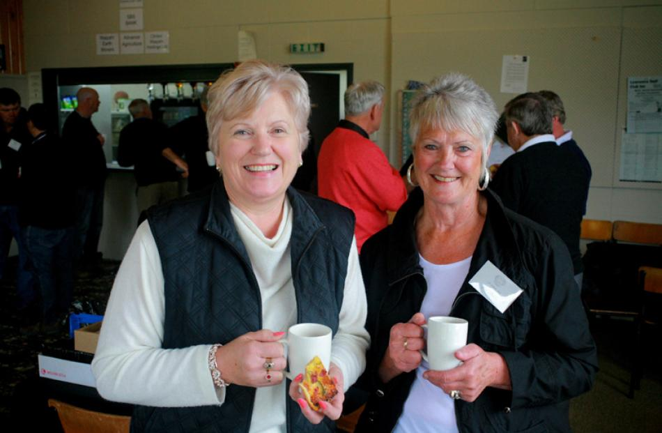 Shirley Clarke of Christchurch, and Joy Dodds of Warepa.